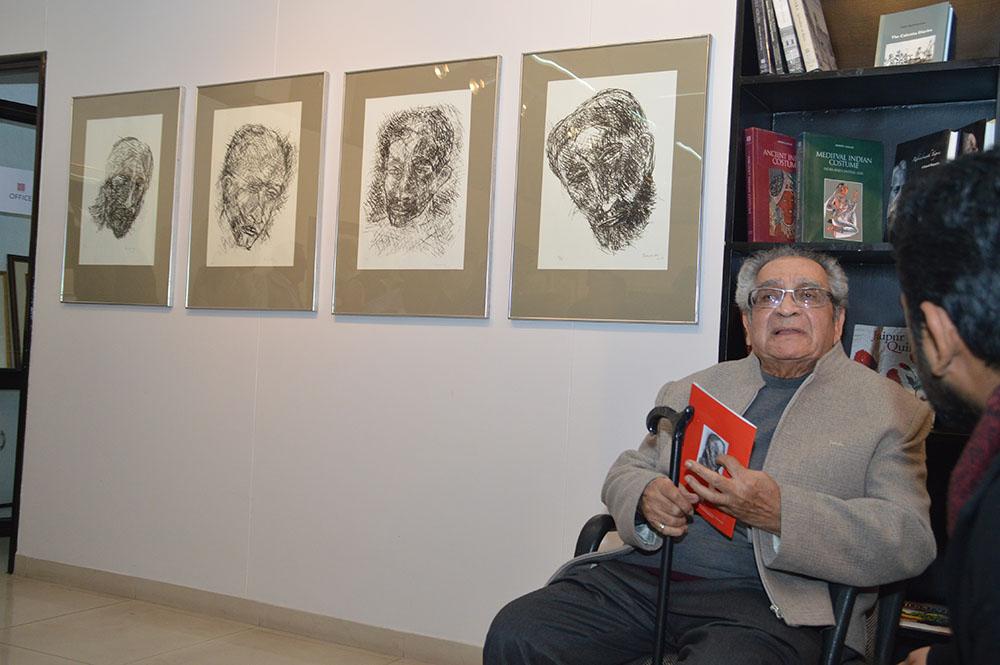 Akbar Padamsee: Lithographs