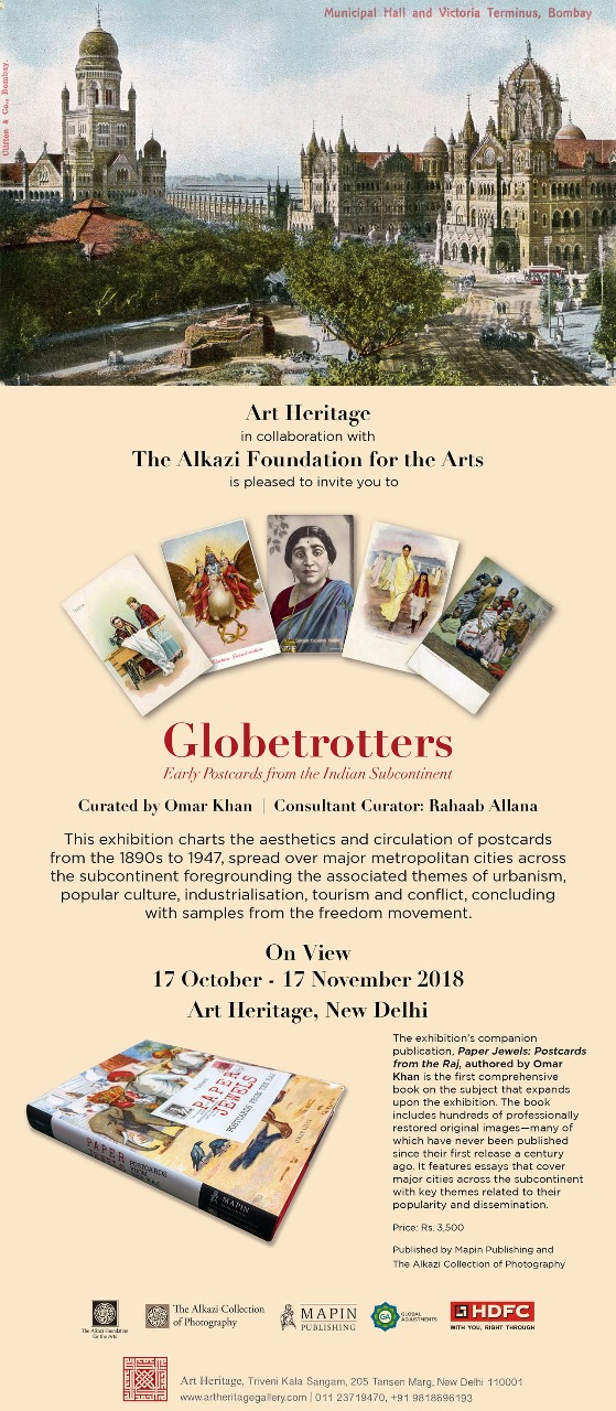 Globetrotters – Early Postcards from the Indian Subcontinents